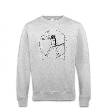 Vitruvian Rocker sweatshirt