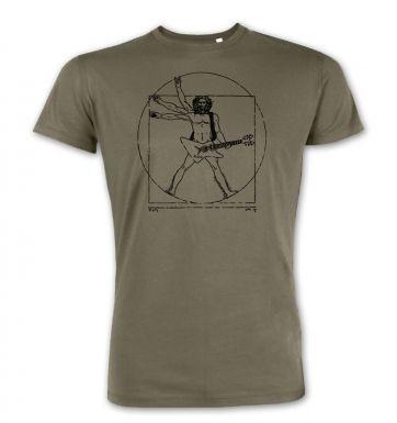 Vitruvian Rocker premium t-shirt