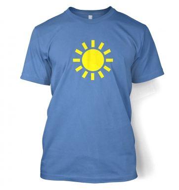 Weather Symbol Sunny t-shirt