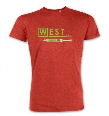 West MD HP Lovecraft premium t-shirt
