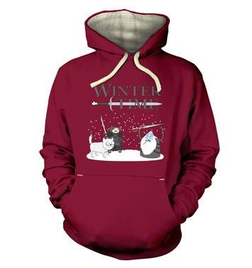 Winter Time premium hoodie