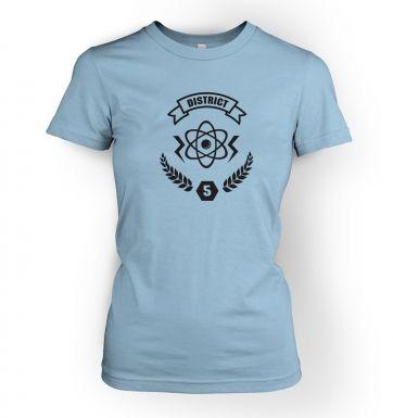 District 5 women's t-shirt