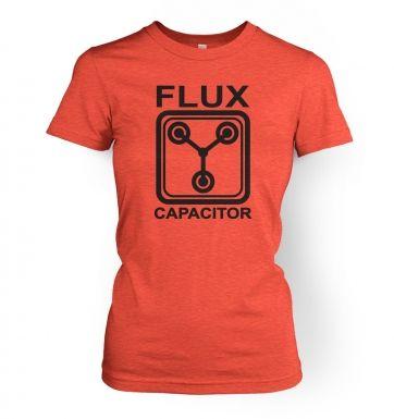 Flux Capacitor  women's t-shirt