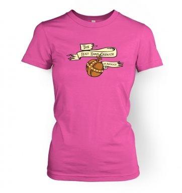 Holy Hand Grenade Of Antioch women's t-shirt