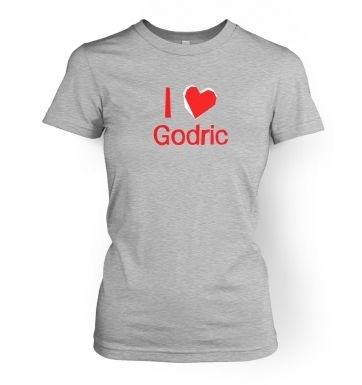 I Heart Godric  women's t-shirt