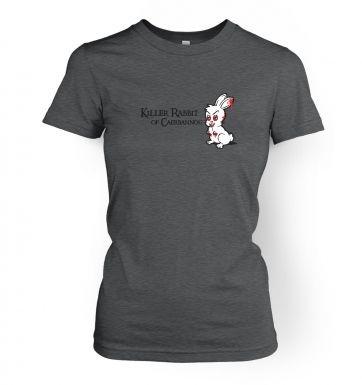 Killer Rabbit Of Caerbannog women's t-shirt