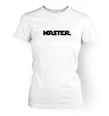 Master womens t-shirt