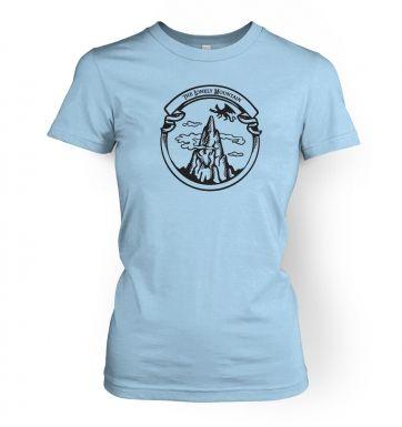 The Dragon Mountain womens t-shirt