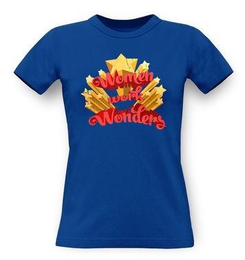 Women Work Wonders classic womens t-shirt