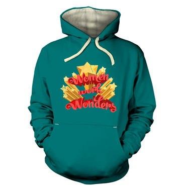 Women Work Wonders premium hoodie