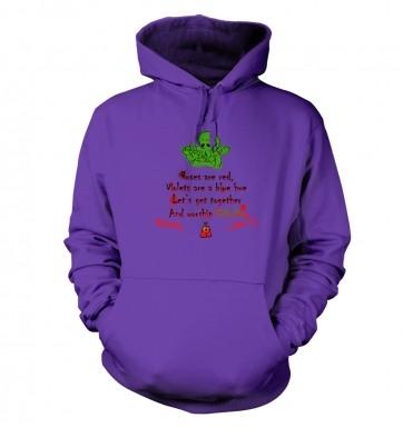 Worship Cthulhu Romantic Poem hoodie