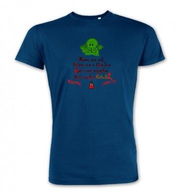 Worship Cthulhu Romantic Poem premium t-shirt