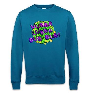 Wubba Lubba crewneck sweatshirt