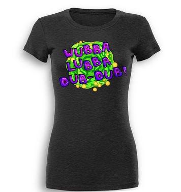 Wubba Lubba premium women's t-shirt