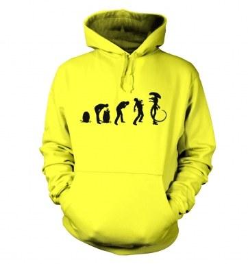 Xenomorph Evolution hoodie (black)