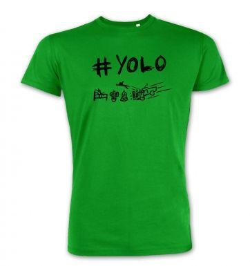 #YOLO mens premium t-shirt