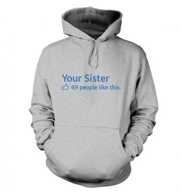 Your Sister Social Status hoodie
