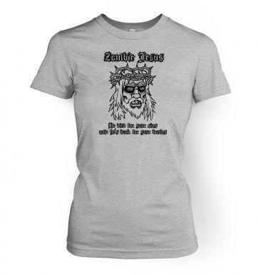 Zombie Jesus women's t-shirt