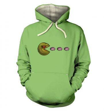 Zombie Pacman  hoodie (premium)